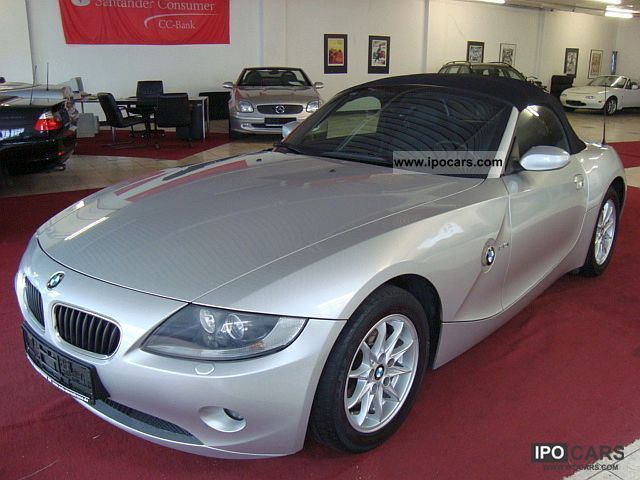 2006 BMW  Z4 2.2i roadster sports leather seats 72tkm Bi-Xenon Cabrio / roadster Used vehicle photo