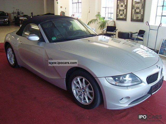 2006 Bmw Z4 2 2i Roadster Sports Leather Seats 72tkm Bi