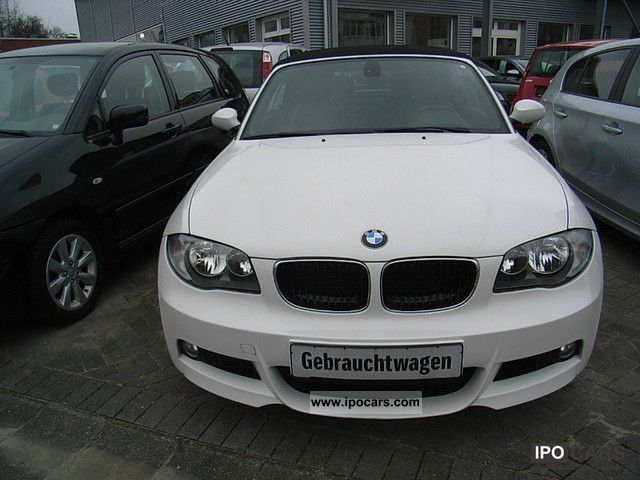 2009 bmw 120i convertible aut car photo and specs. Black Bedroom Furniture Sets. Home Design Ideas