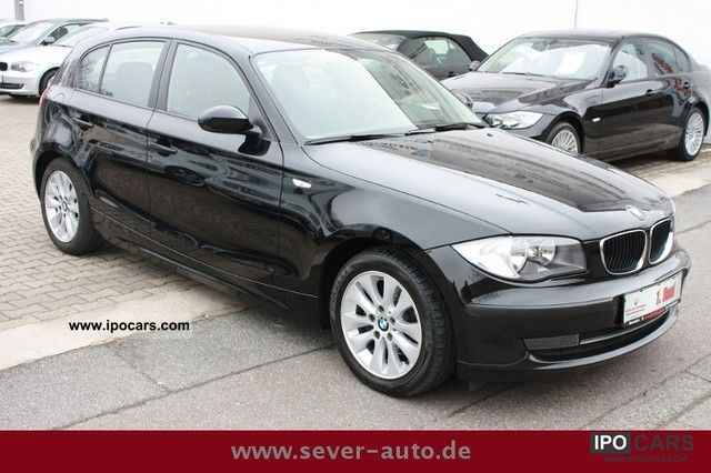 2008 BMW  * 1 118i MANUAL + NAVI + AHK + TOP CARE * Limousine Used vehicle photo