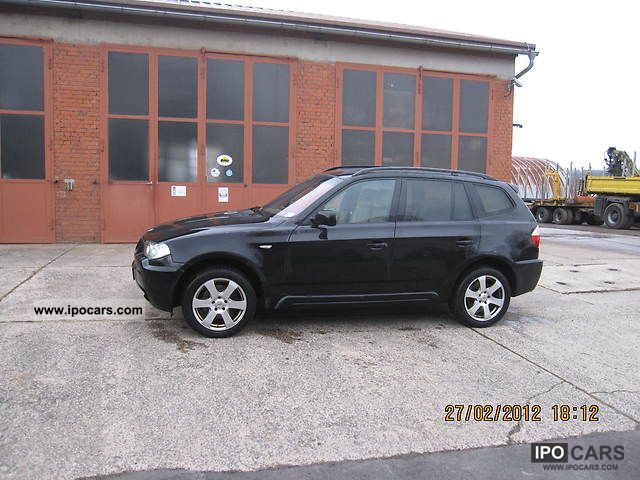 2007 bmw x3 aut car photo and specs. Black Bedroom Furniture Sets. Home Design Ideas