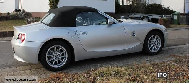 2006 Bmw Z4 22i Roadster Car Photo And Specs