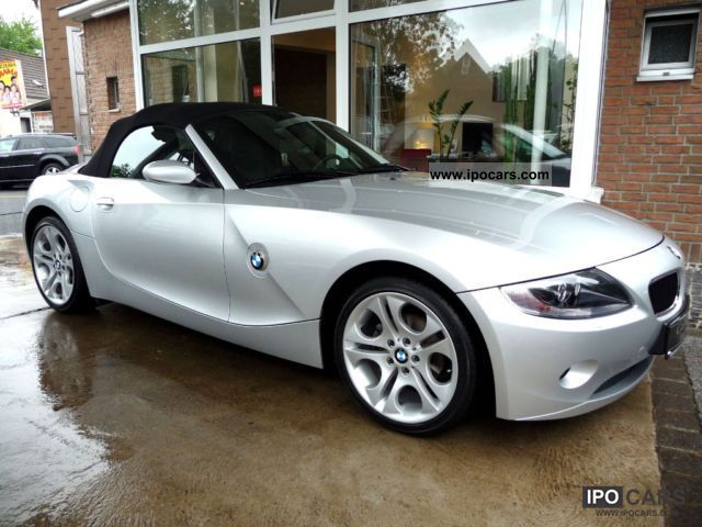 2005 BMW  Z4 Roadster Navi / Xenon / air / leather sports seats Cabrio / roadster Used vehicle photo