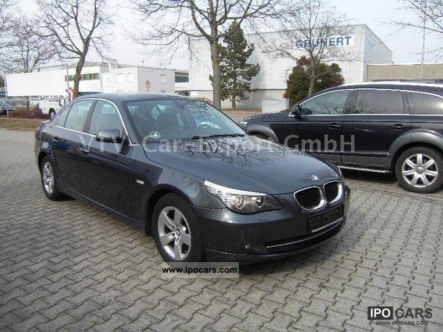 2008 BMW 520i FACELIFT LEATHER SHZ ORIG53TKM KLIMAUT
