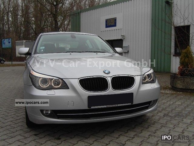 2008 BMW  520i * FACELIFT * LEATHER * SHZ * ORIG.46TKM * KLIMAUT. * Limousine Used vehicle photo