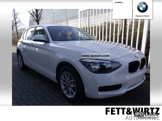 2011 BMW  116d Air Comfort Package PDC Limousine New vehicle photo