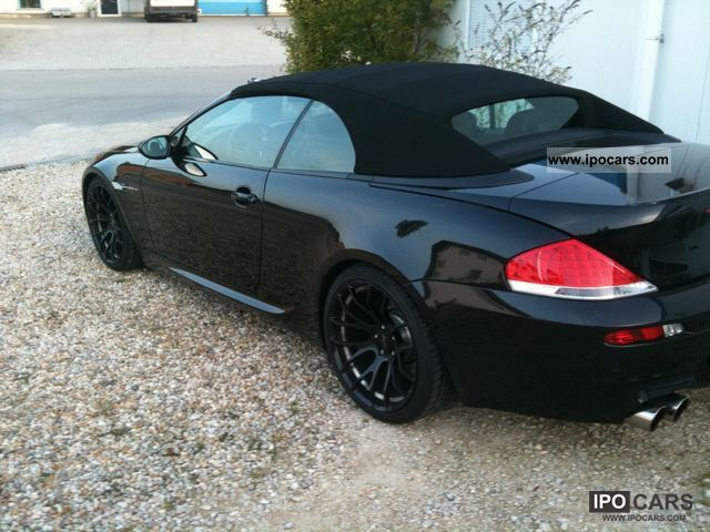 2007 Bmw M6 Convertible Car Photo And Specs