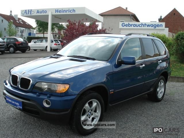 2002 Bmw X5 3 0d Auto Navi Xenon Klimaautom Apc Dvd Off Road Vehicle Pickup Truck