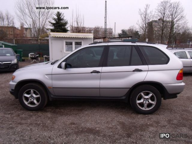 2002 BMW X5 3.0d Automatic Leather Limousine Used vehicle photo 4