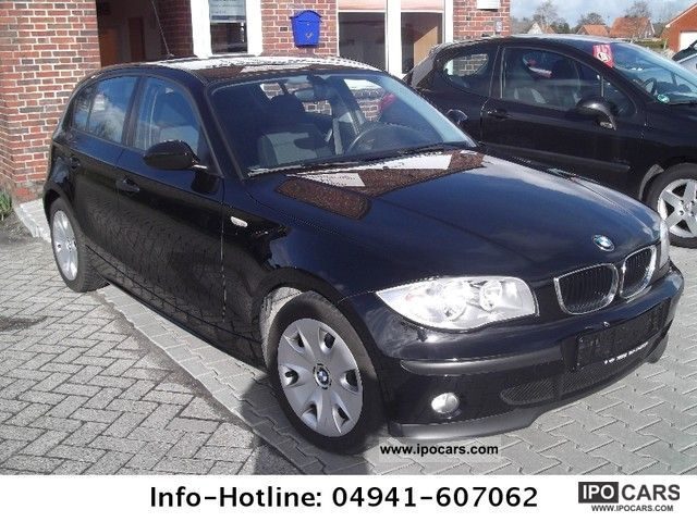 2006 bmw 118d car photo and specs. Black Bedroom Furniture Sets. Home Design Ideas