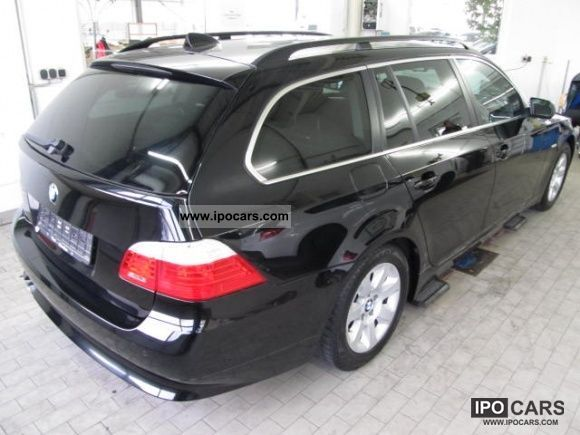 2008 BMW 520d automatic navigation Prof.PDC Bluetooth Sitzheiz Estate ...
