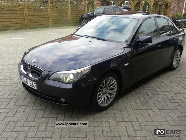 2004 bmw 545i car photo and specs. Black Bedroom Furniture Sets. Home Design Ideas