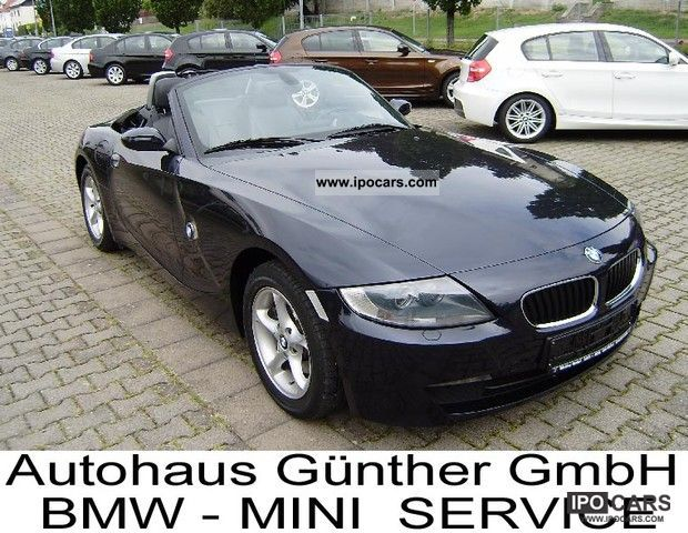 2008 BMW  Z4 roadster 2.5si/Xenon/Navigationssystem Prof. Cabrio / roadster Used vehicle photo