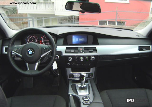 2009 Bmw 520d Touring Aut Xenon Bluetooth Gps Car