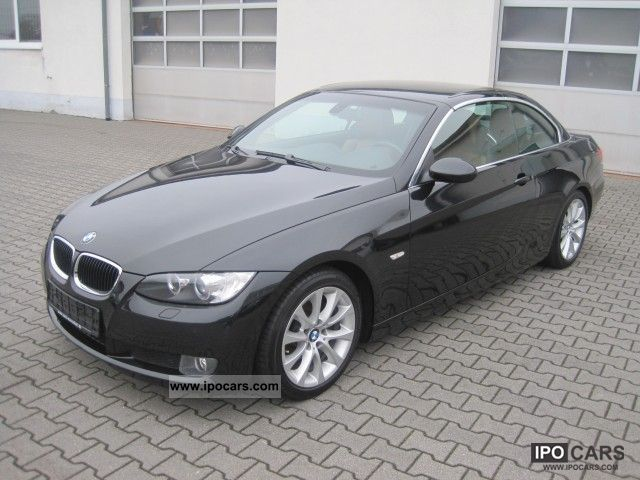 2008 bmw 320d convertible leather navi m sports suspension car photo and specs. Black Bedroom Furniture Sets. Home Design Ideas