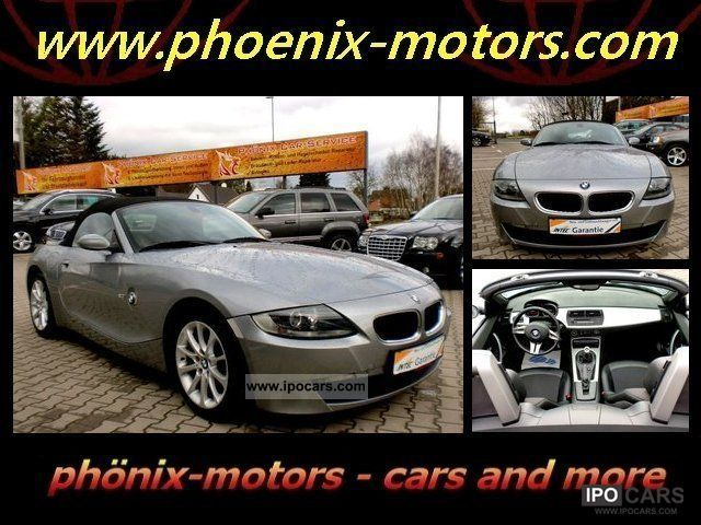 2006 BMW  Z4 2.0L, AIR, ROOF E-0.1-HAND CARE TOP Cabrio / roadster Used vehicle photo