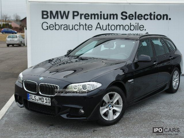 2012 BMW  525d xDrive Touring (M Sports Package Bluetooth USB) Estate Car Demonstration Vehicle photo