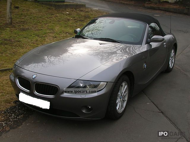 2005 Bmw Z4 22i Roadster Car Photo And Specs