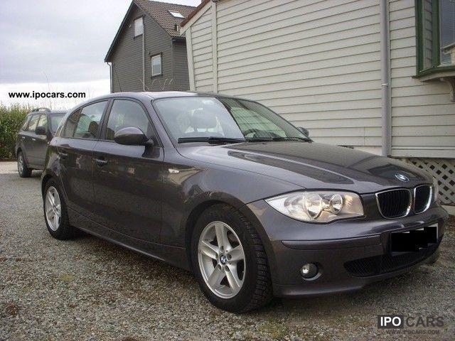 2004 BMW  118d Limousine Used vehicle photo