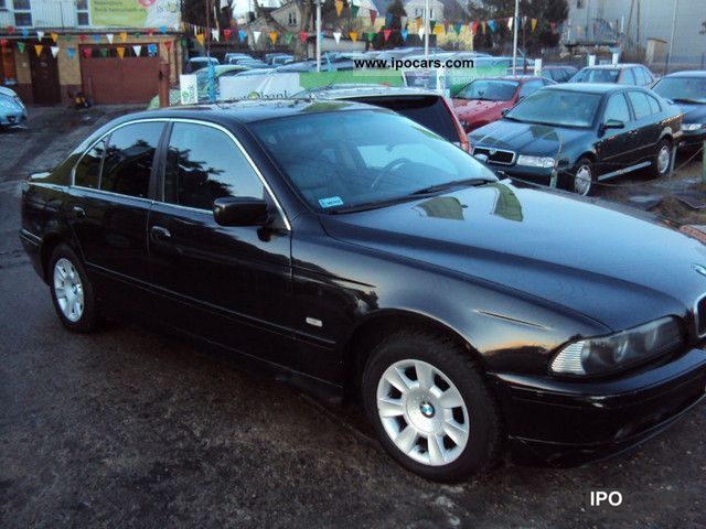 2001 bmw 520 car photo and specs