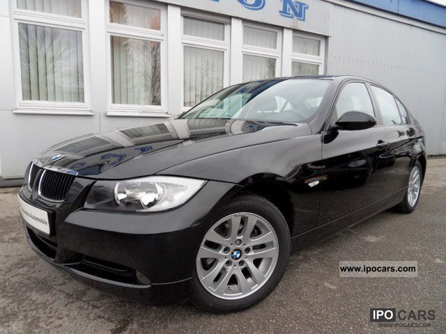 2007 bmw e90 318d navi klimatr pdc shz comfort hand 1 car photo and specs. Black Bedroom Furniture Sets. Home Design Ideas