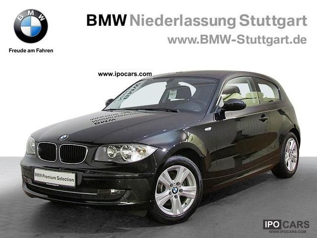 2008 BMW  118i 3-door Seat heating Climate PDC Limousine Used vehicle photo