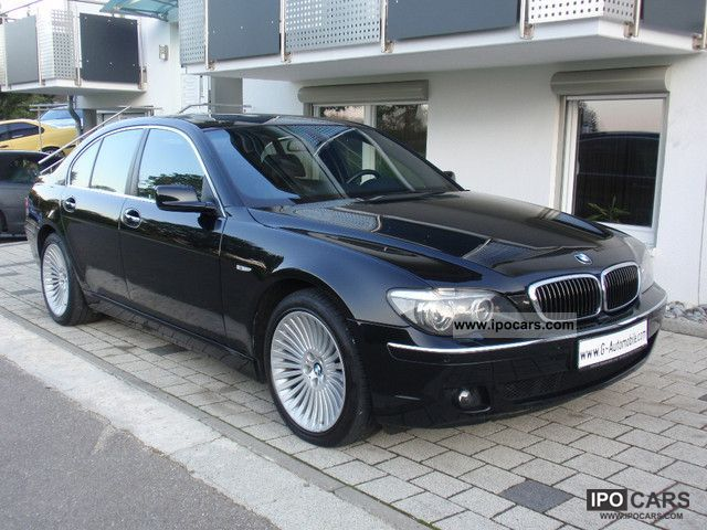 2006 bmw 745d navi tv leather logic 7 comfort access hifi car photo and specs. Black Bedroom Furniture Sets. Home Design Ideas