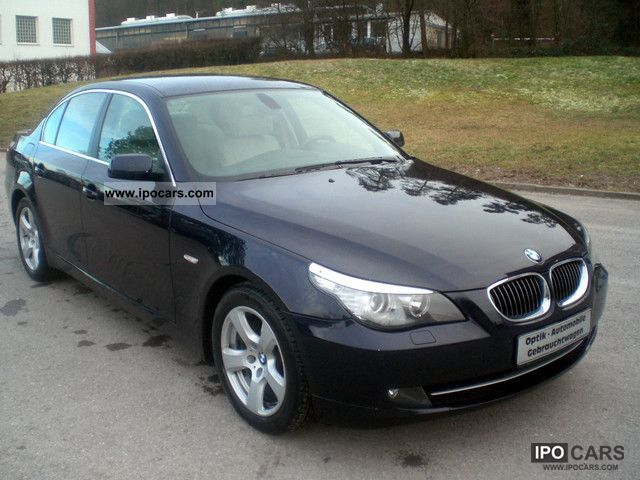 2008 Bmw 525 Advantage Package Facelift Sport Org 103tkm