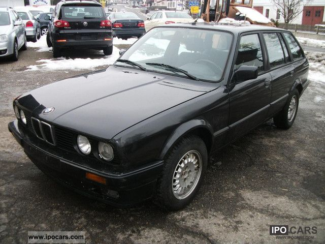1990 Bmw 318i Touring Car Photo And Specs