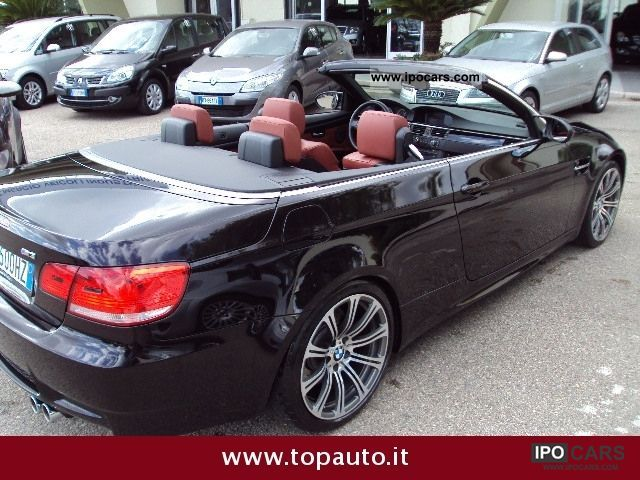 2008 BMW M3 Convertible DCT - Car Photo and Specs