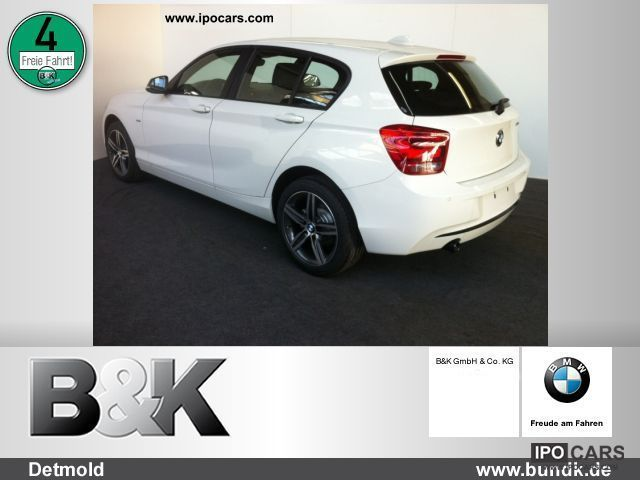 2012 BMW  118d 5-door - 36 Mon / 0, -. No. / 299, - € Limousine Demonstration Vehicle photo