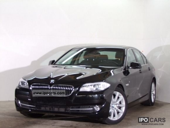 2010 BMW  525d Saloon DDC, integral active steering, navigation, Xeno Limousine Used vehicle photo