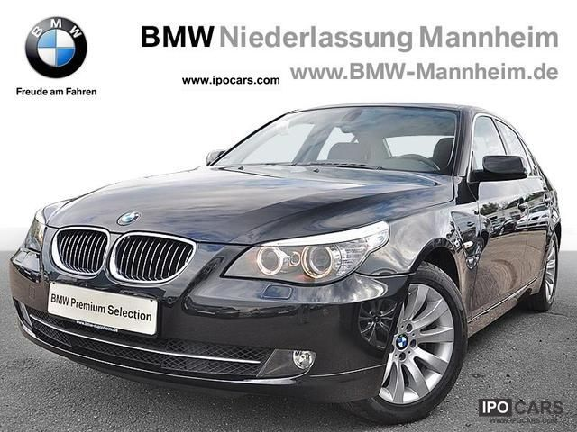 2008 BMW  525d saloon auto glass roof Comfort access Limousine Used vehicle photo
