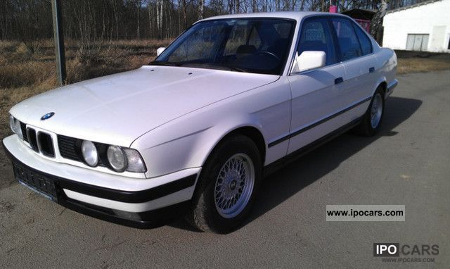 1989 BMW 525i sports sedan  Car Photo and Specs