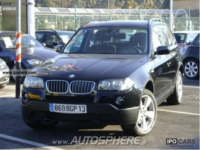 2007 bmw x3 confort car photo and specs. Black Bedroom Furniture Sets. Home Design Ideas