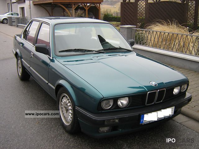 1990 bmw 320i e30 car photo and specs. Black Bedroom Furniture Sets. Home Design Ideas