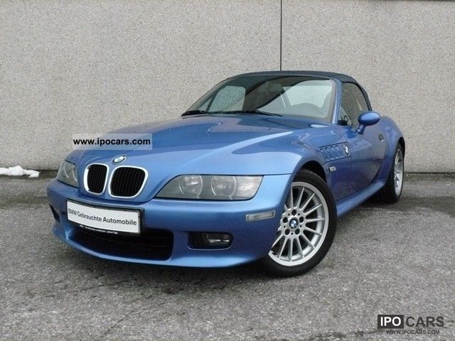 2002 BMW  Z3 2.2i roadster leather climate LM wheels 17, Cabrio / roadster Used vehicle photo