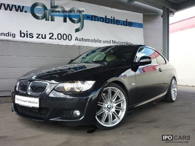 2009 BMW  325d coupe aut. M sports package, M leather steering wheel with Sports car/Coupe Used vehicle photo