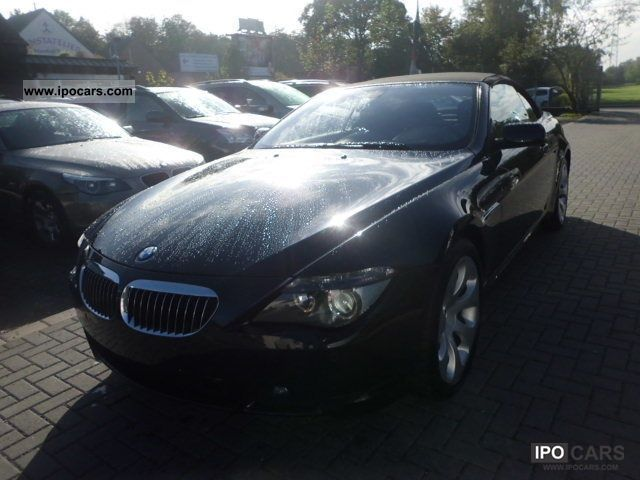 2006 Bmw 650i Navi Tv Headup Night Vision Webasto