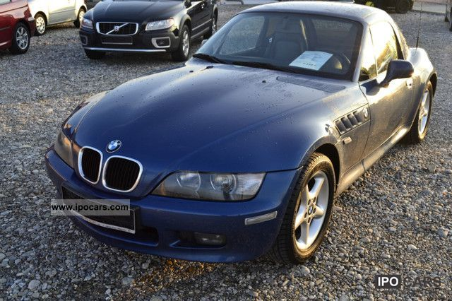2002 BMW  Z3 1.9i roadster leather, hardtop, heated seats, climate Cabrio / roadster Used vehicle photo