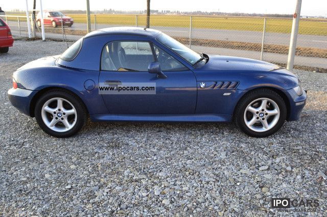2002 Bmw Z3 1 9i Roadster Leather Hardtop Heated Seats