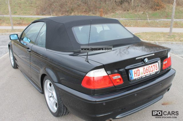 2006 Bmw 318 Cabrio M Package Car Photo And Specs