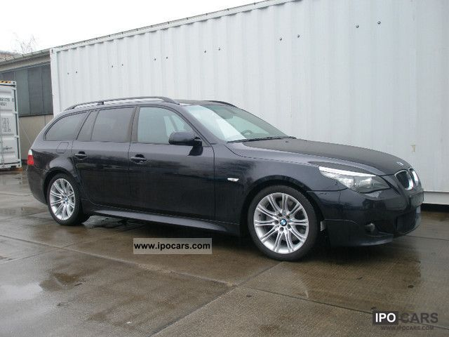 2008 bmw 535d touring sport aut m sports package car photo and specs. Black Bedroom Furniture Sets. Home Design Ideas