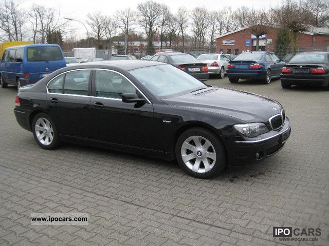 2006 BMW  730d, DPF, Standhzg., Xenon, Navi Prof, glass roof Limousine Used vehicle photo