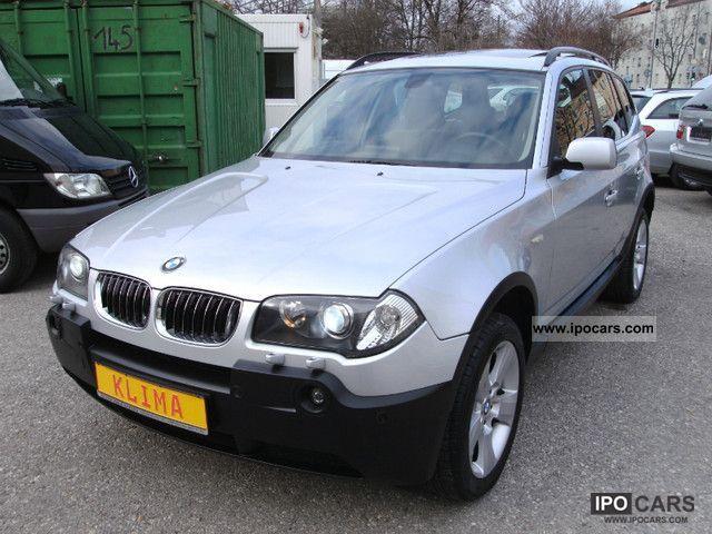 2006 BMW  X3 2.5i Navi Panorama leather-xenon gas conversion Off-road Vehicle/Pickup Truck Used vehicle photo