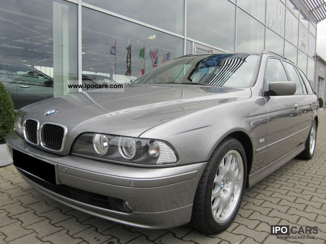 2002 BMW  520i Touring Edition Lifestyle ~ ~ leather sport seats ~ Estate Car Used vehicle photo