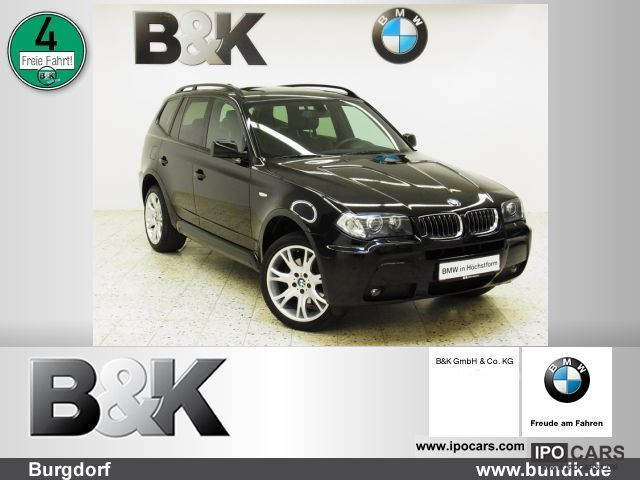 2006 BMW  X3 XDrive 30d M Sport Package (Navi Xenon leather) Off-road Vehicle/Pickup Truck Used vehicle photo