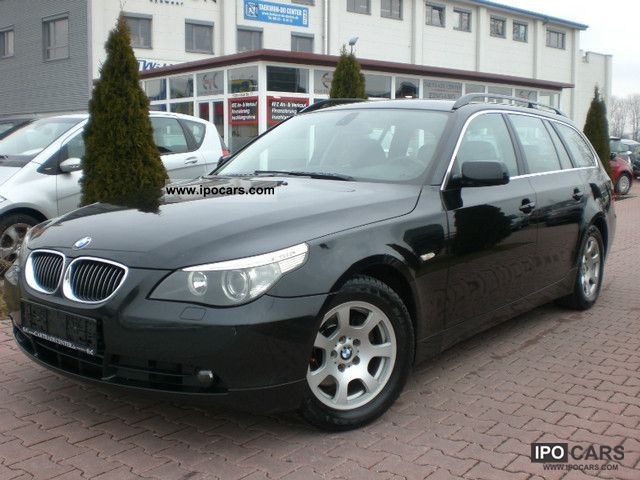 2006 Bmw 525i Touring Aut Xenon Leather Pdc Klimaaut Car Photo And Specs