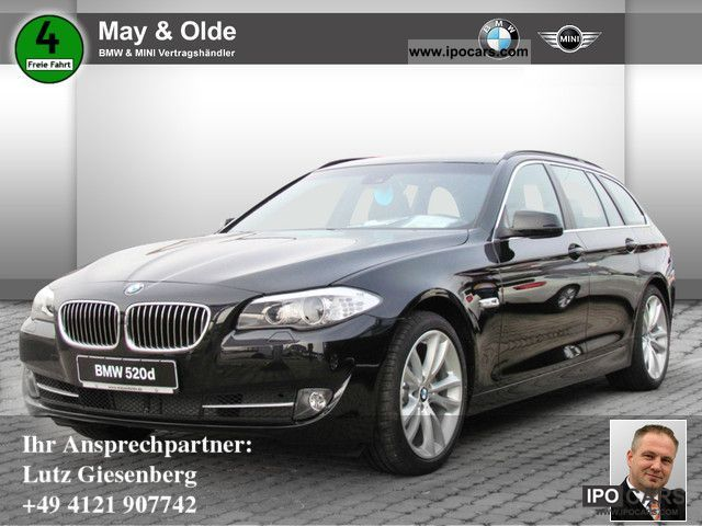 2012 BMW  520dA Touring NAVI LEATHER BI-XENON Estate Car Demonstration Vehicle photo