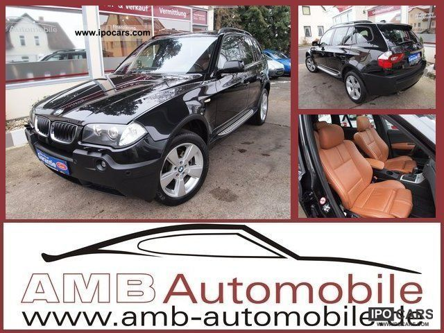 2004 BMW  X3 3.0 Sport Package Leather DPF Navi Xenon Panorama Off-road Vehicle/Pickup Truck Used vehicle photo